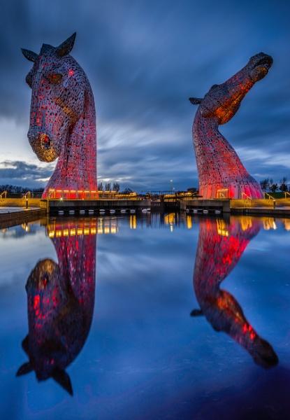 The Kelpies by Mark_Callander