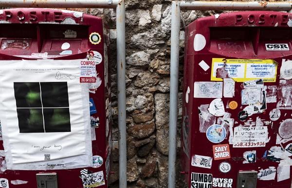 Sicilian Post Box by AJG