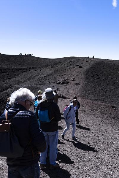 Walking On Mount Etna! by AJG
