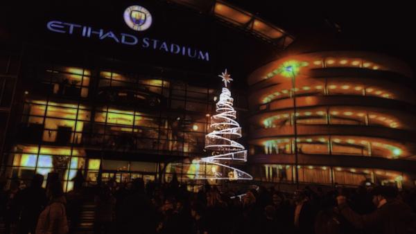 Happy Christmas from The ETIHAD STADIUM