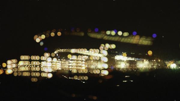 The Etihad Stadium from the car park.