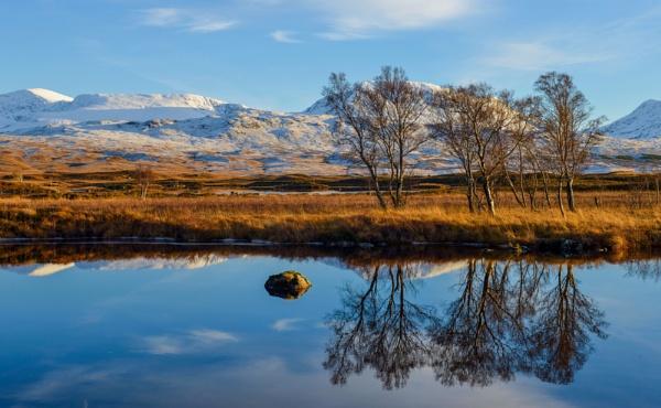 Reflections in Loch Ba, Glencoe. by smithgj