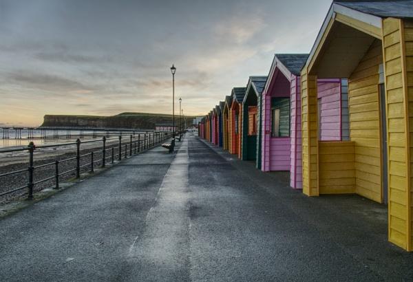 Beach Huts by jk