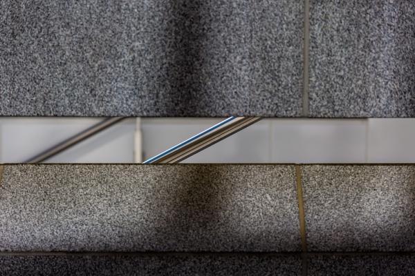 Abstract wall and handles by rninov