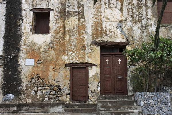 monastery Moni Preveli, Crete by jeakmalt