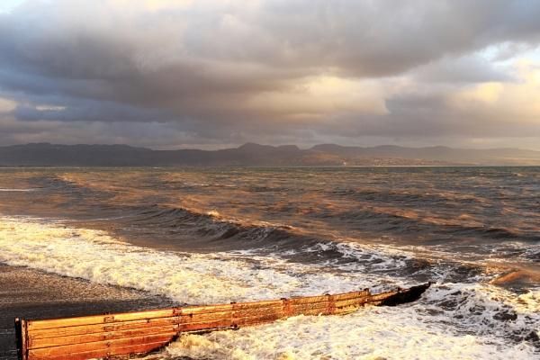 Sunset on Cardigan Bay