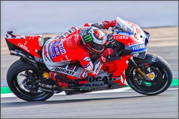 Jorge at speed by rickie