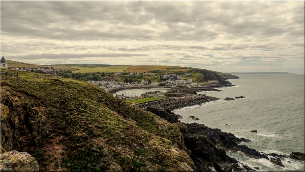 Portpatrick From The North Cliffs.