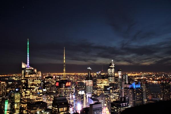 Night time NYC by PeterAS