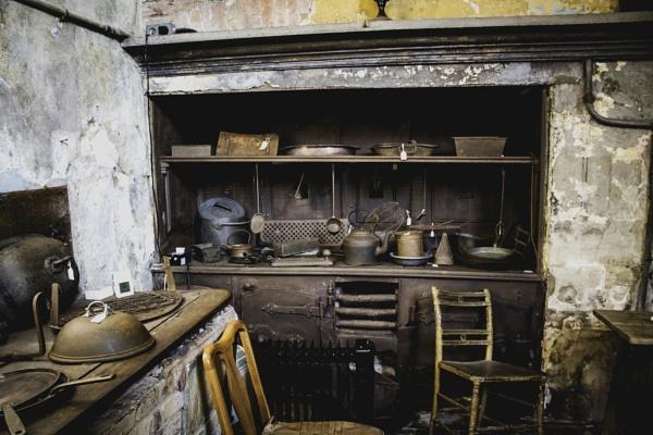 Old Kitchen by OverthehillPhil