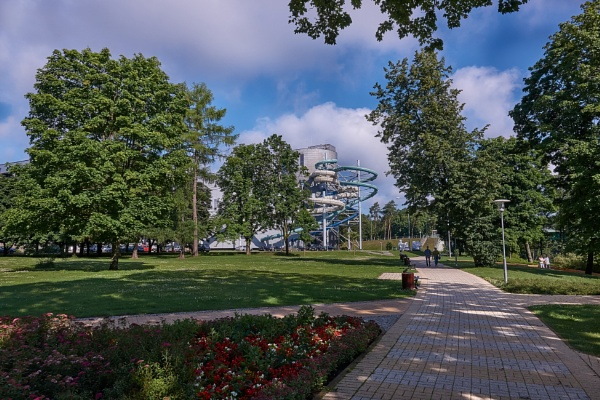 Park in Druskininkai by LotaLota