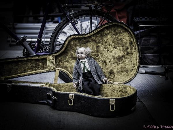 Puppet in a case by ejwaddel
