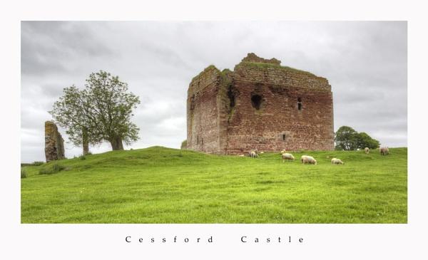 cessford castle by callumcorrie