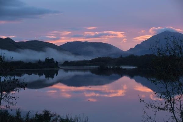Kilchurn Castle Loch Awe by lampgb