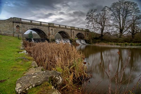 Kedleston Hall Bridge by mmart