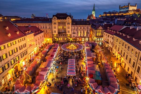 Christmas Market by eddy11