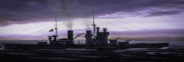 HMS Prince of Wales by RLF