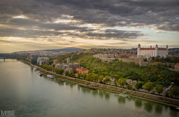 Bratislava Castle by DiazSprite