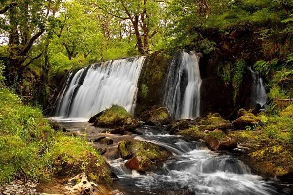 Braevallich Falls by stokesy