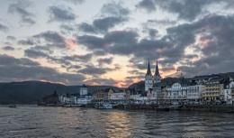 Sun Rise Over The Rhine