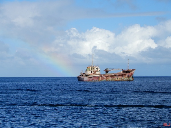 Rainbow Wreck by voyger1010