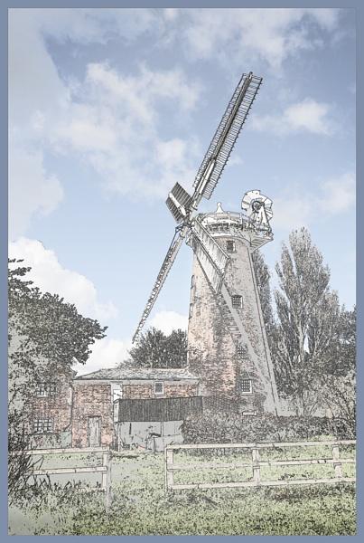 Woodbridge Mill by AlfieK