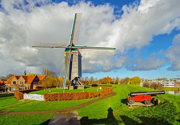 Mill of Brielle by joop_