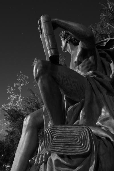 Statue of Trade - park Luzanky by konig