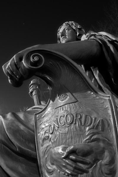 Statue of Tolerance - park Luzanky by konig
