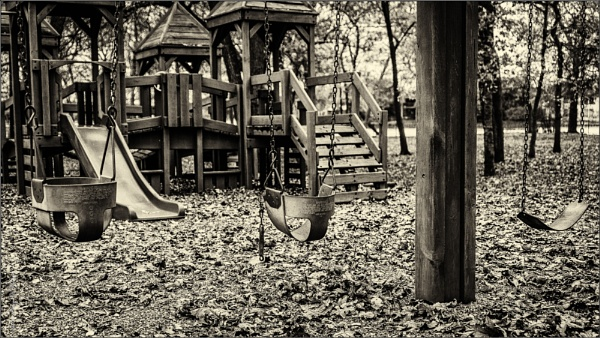 Where do the children play? by GeorgeP