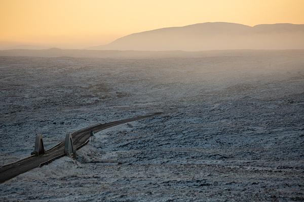 Cold Dawn Rannoch moor. by rontear