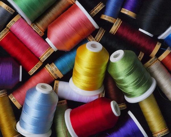 Box of threads by jbsaladino