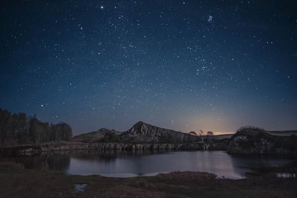 Night Sky, Cawfields by flowerpower59