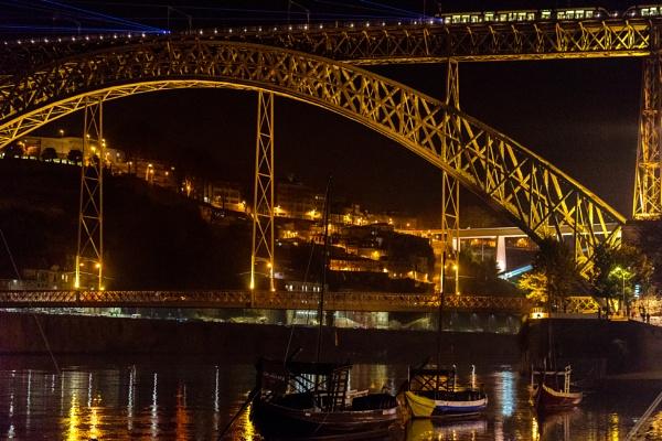 Porto, Ponte Luiz I by Potra