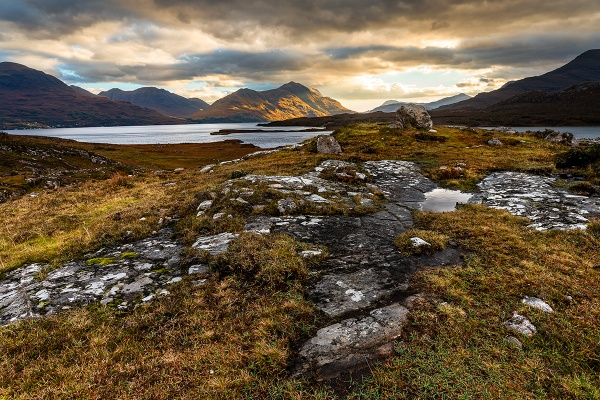 Upper Loch Torridon by peterpaterson