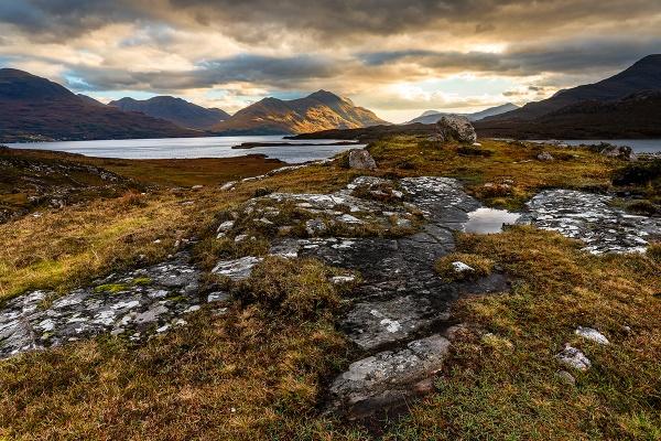 Upper Loch Torridon by peter74