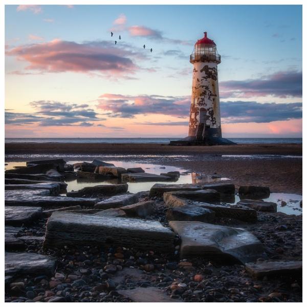 Talacre Lighthouse. by Satlight
