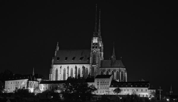 Petrov Cathedral Brno by konig