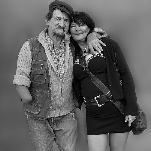 A happy couple by johnyhemelsoen
