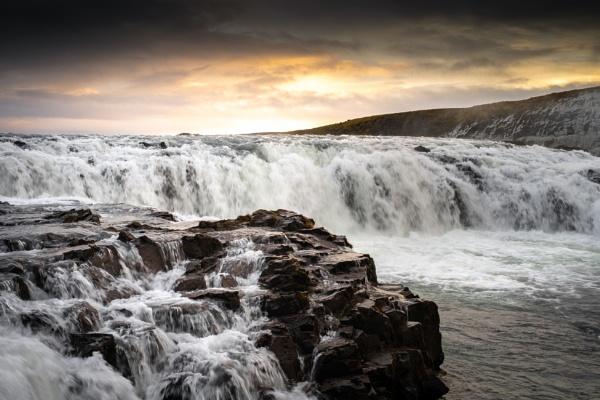 Gullfoss Waterfall, Iceland by JRMGallery