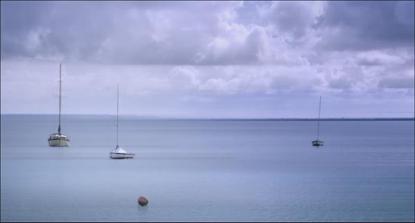 Yachts at anchor - version 2 by MAK2