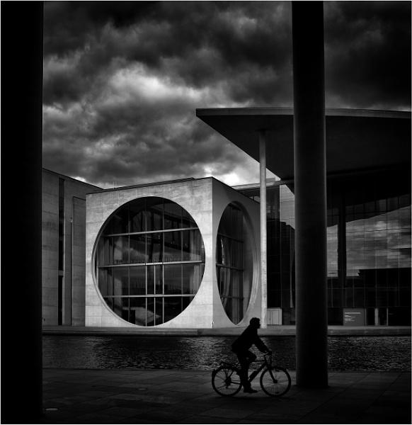 Berlin biker by KingBee