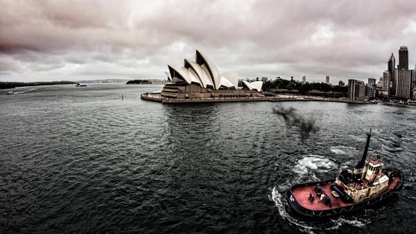 Tugboat Sydney by sandwedge