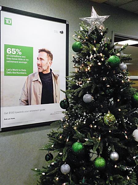 CHRISTMAS TIME at MY BANK by TimothyDMorton