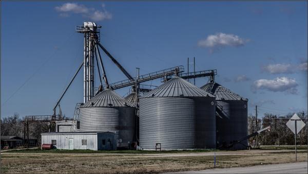 Grain Silos by GeorgeP