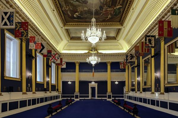 Main hall in Dublin Castle by peterellison