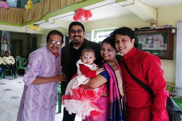Happy Family by prabhusinha