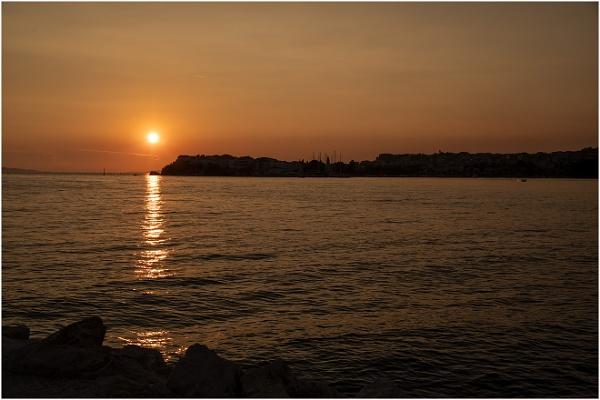 Croatian Sunset by Lillian