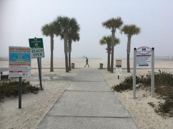Caution,beach ahead by Trevhas