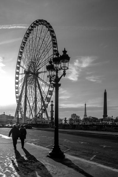 Autumn in Paris by Potra